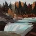 autumn-at-the-falls-24X24-2010-sold