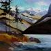 minnewanka-shoreline-24x24-2009-sold
