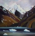 nearing-the-glacier-36X36-sold