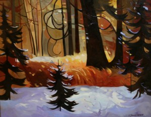 Late Snow Fish Creek (Rotary Club Auction)