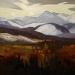 Banded Peak 24X60-Stephen Lowe art gallery-sold