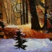 late-snow-fish-creek-24X30 auction donation-2010-sold