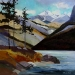 minnewanka-shoreline-24x24-2009-sold