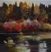 warm-afternoon-fish-creek-20X20-2010-Stephen Lowe-sold